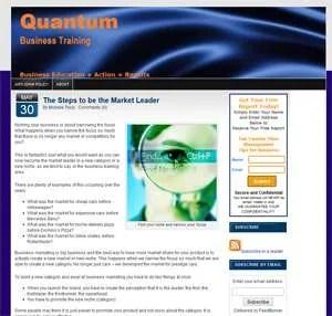Client Spotlight: Quantum Business Training