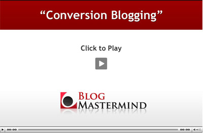 Conversion Blogging