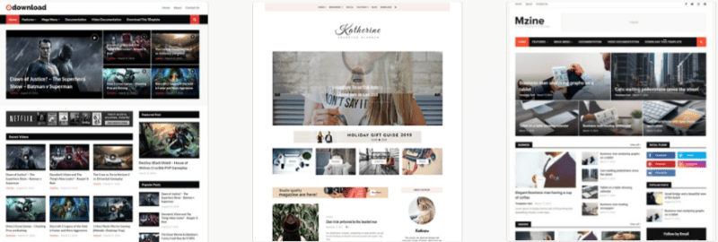 mobile friendly blogger template