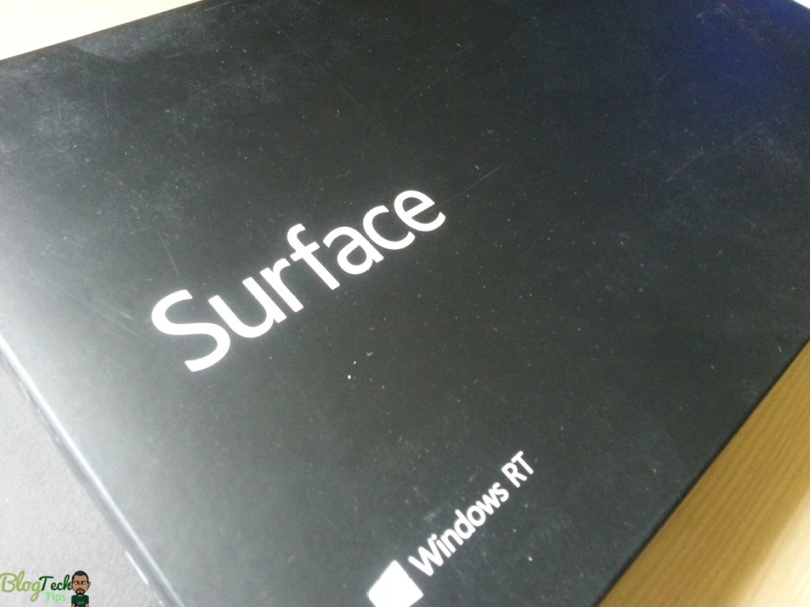 windows 8 surface rt