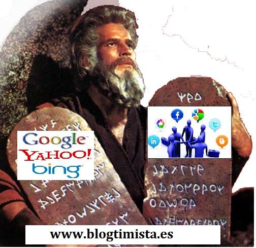 Los mandamientos de Google- Blogtimista