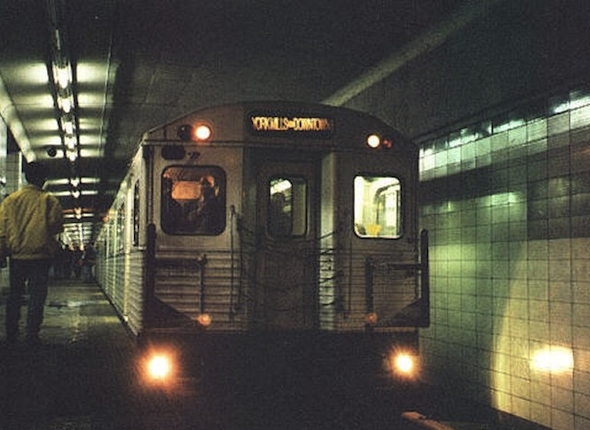 lower bay station train via downtown