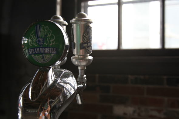 20120618 - Steam Whistle tap.JPG
