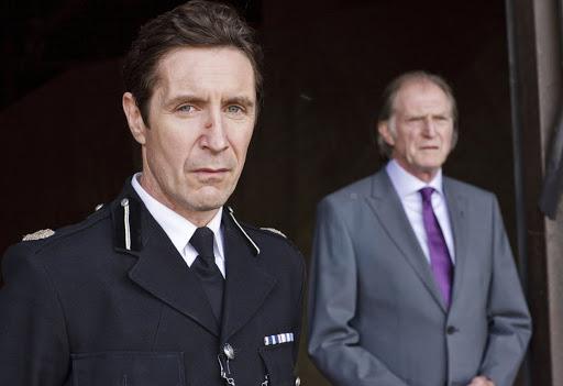 Paul McGann and David Bradley in Waking the Dead (c) BBC