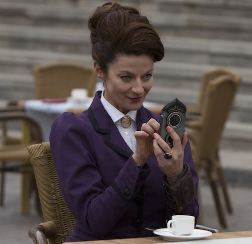 Doctor Who - TX: 19/09/2015 - Episode: The Magician's Apprentice (No. 1) - Picture Shows: Missy (MICHELLE GOMEZ) - (C) BBC - Photographer: Jack Barnes