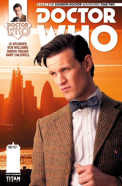 Titan Comics - Eleventh Doctor 2.2 - Cover B