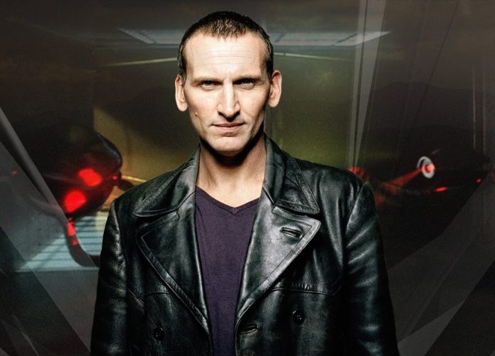 Christopher Eccleston as The Doctor (c) BBC