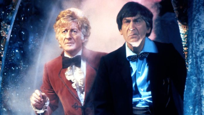Doctor Who - The Three Doctors (c) BBC