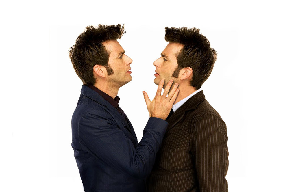 The Doctor and Metacrisis -David Tennant - BBC publicity shots - (c) BBC