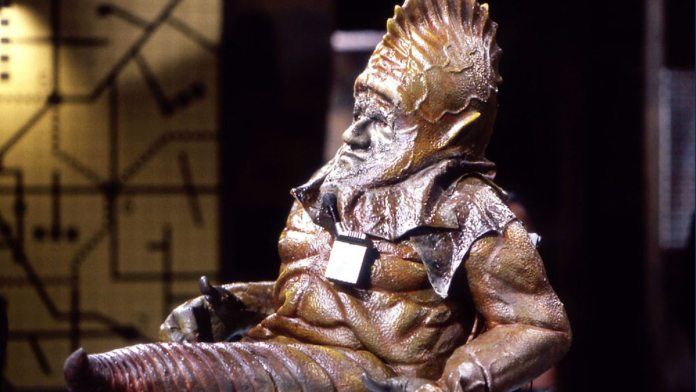 Sil - Doctor Who = Vengance of Varos (c) BBC Studios