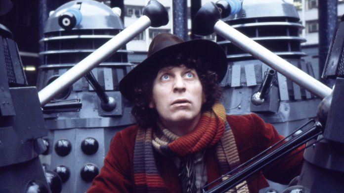 Tom Baker as the Fourth Doctor (c) BBC Studios