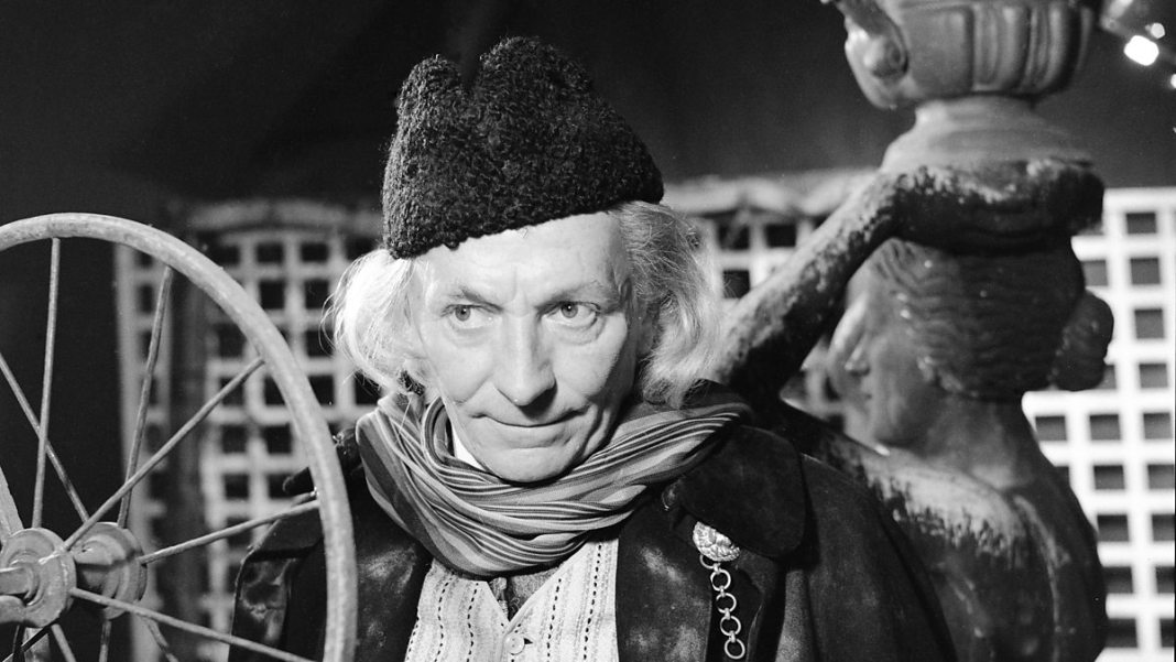 First Doctor - William Hartnell (c) BBC Doctor Who An Unearthly Child