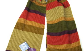 Lovarzi – Doctor Who 4th Doctor (Tom Baker) Scarf 18 ft Long Season 16 – 17