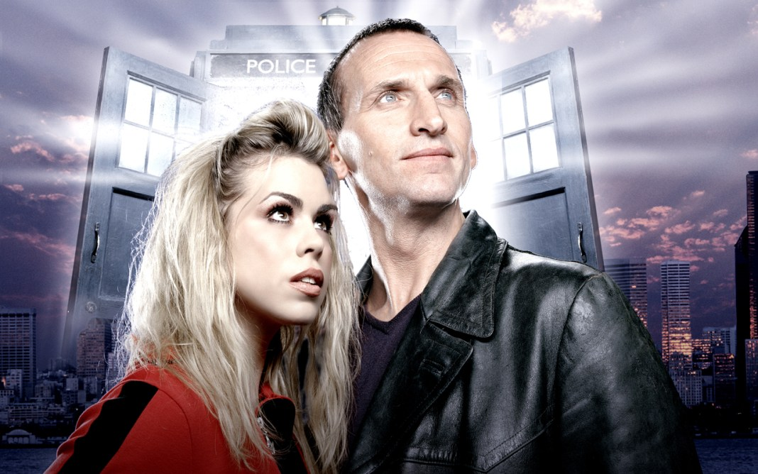 Rose Tyler (Billie Piper) & The Doctor (Christopher Eccleston) - Doctor Who - Rose © BBC 2005