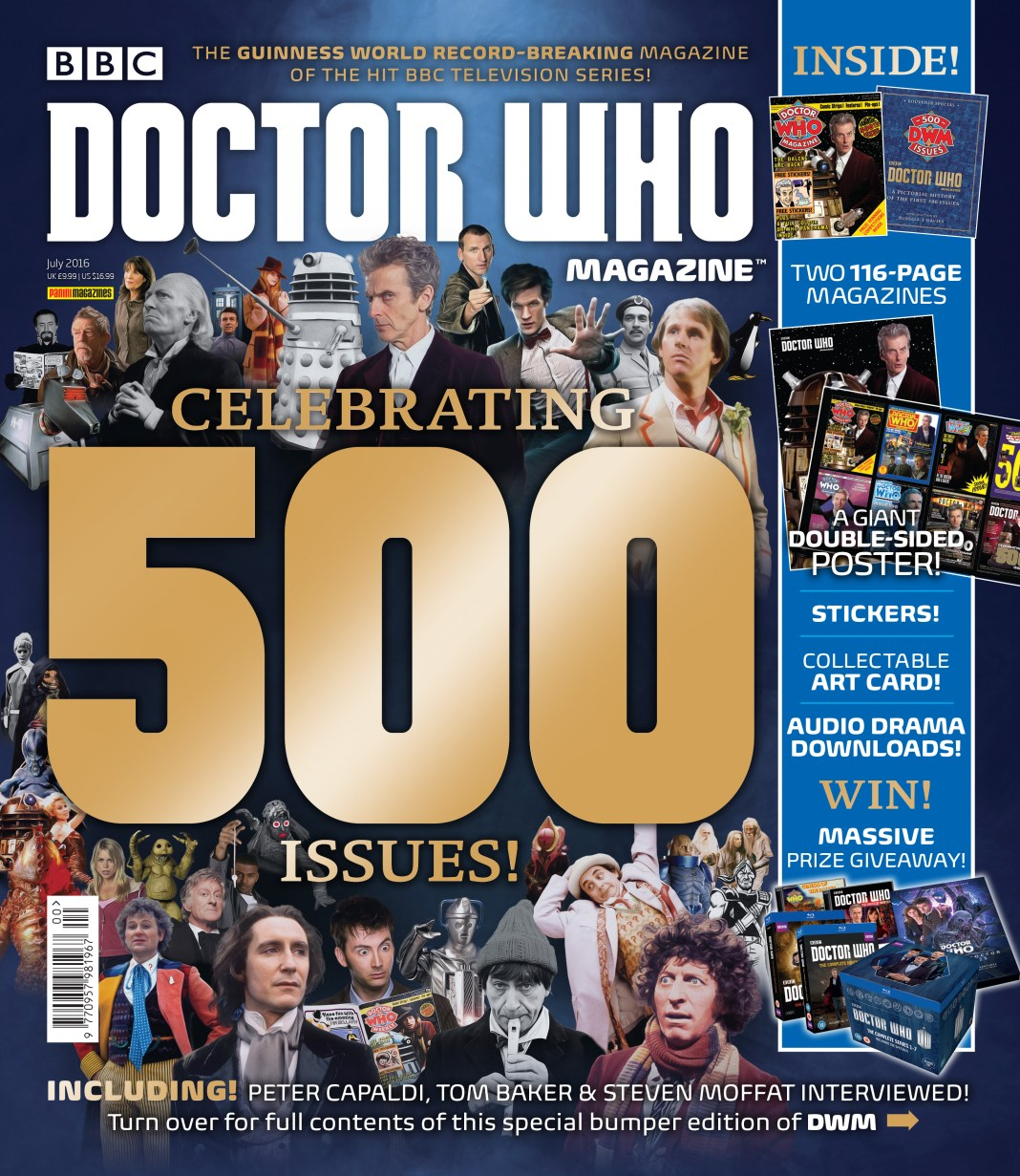 Doctor Who Magazine 500th Issue Card Wallet
