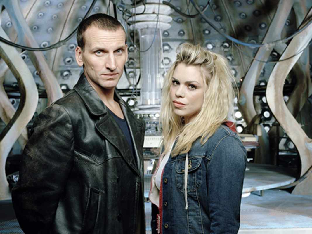 Ninth Doctor (Christopher Eccleston) and Rose Tyler (Billie Piper) - Doctor Who