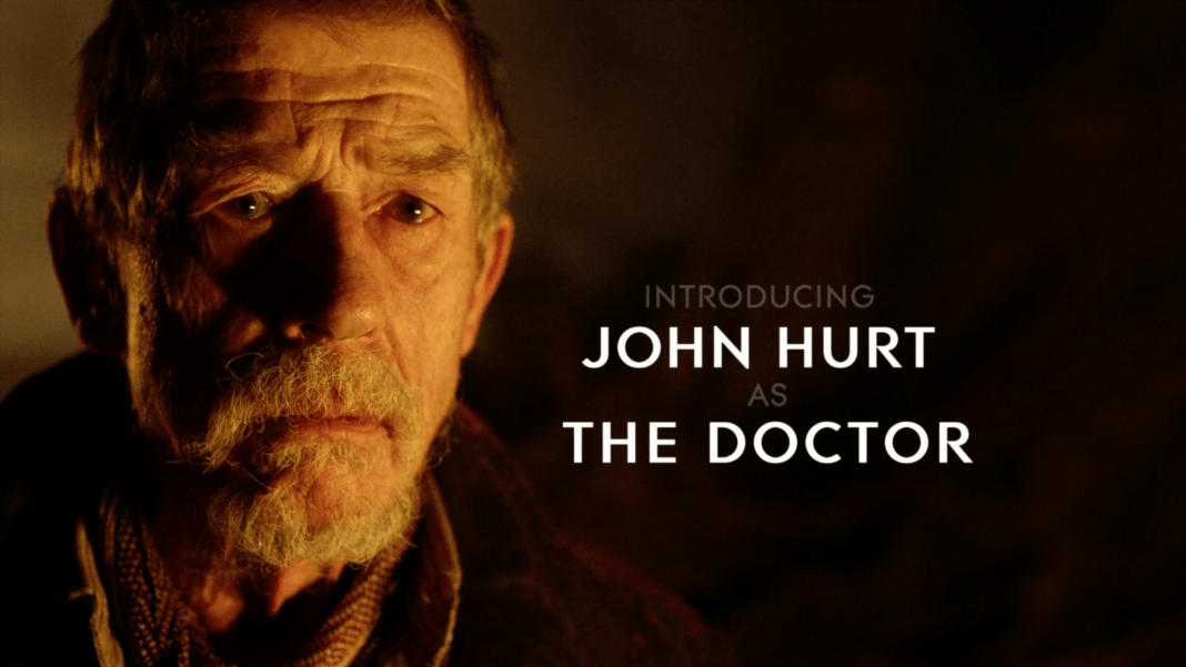 John Hurt as The Doctor - Doctor Who - The Name of the Doctor (c) BBC