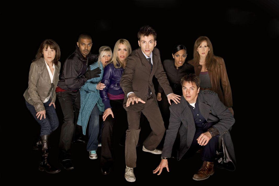 Doctor Who Companions (c) BBC