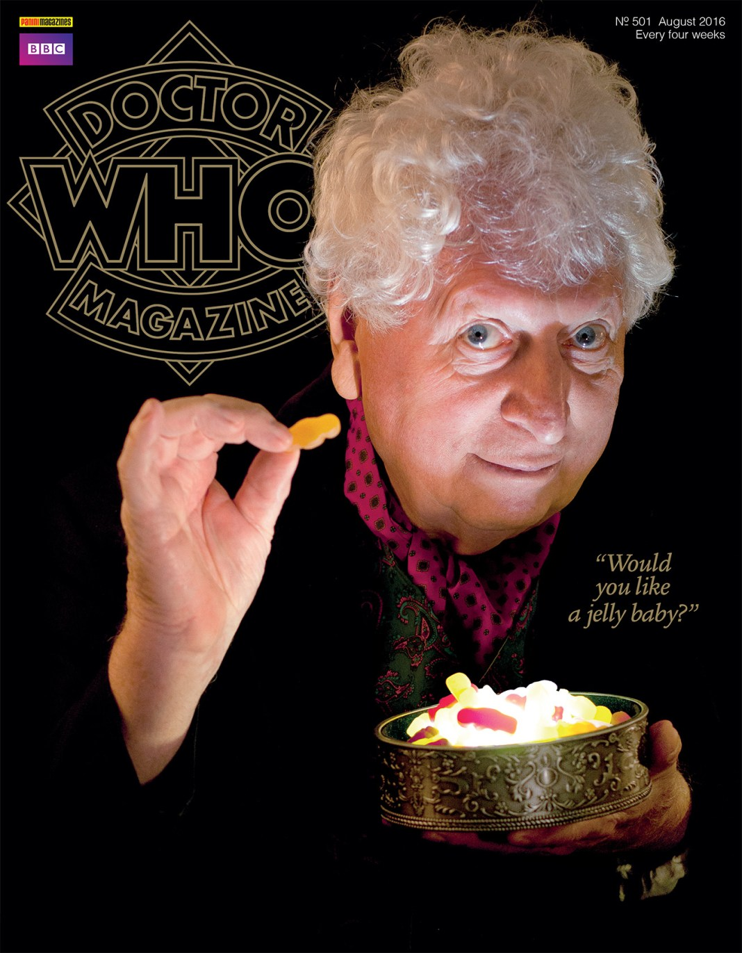 DWM 501 - Tom Baker Photo © Oliver McNeil http://www.theworldoflegend.com