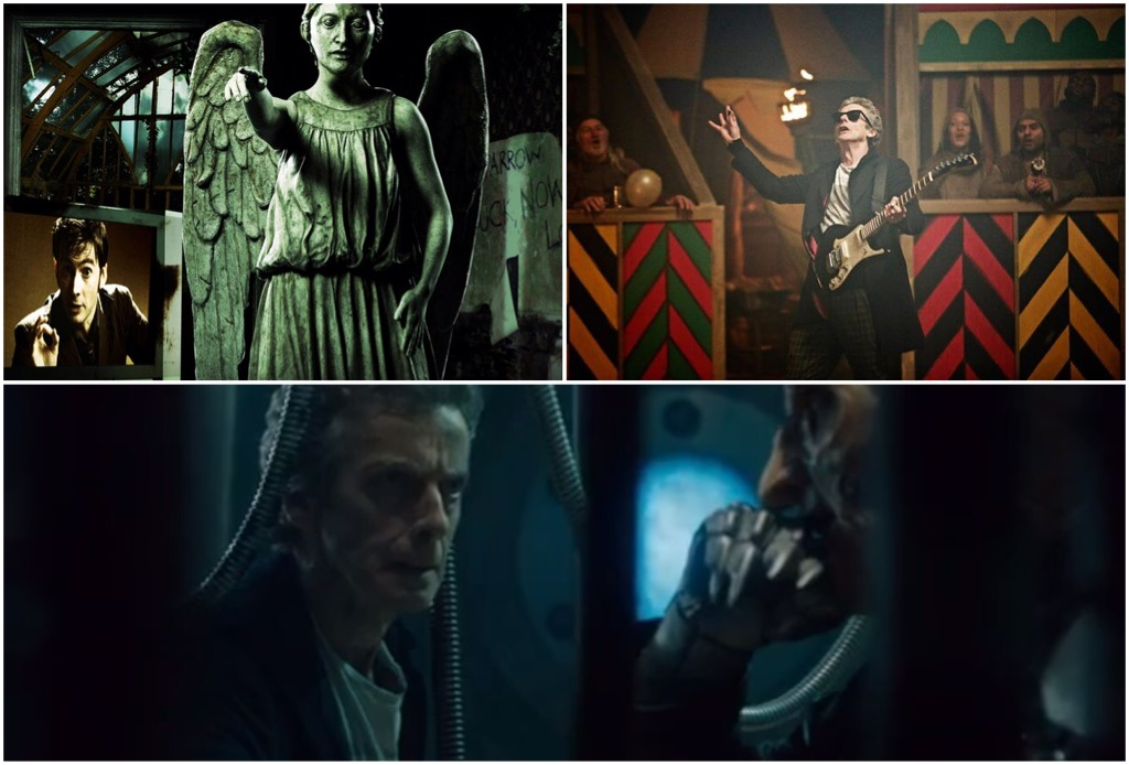 Doctor Who's Blink, The Magician's Apprentice and The Witch's Familiar (c) BBC