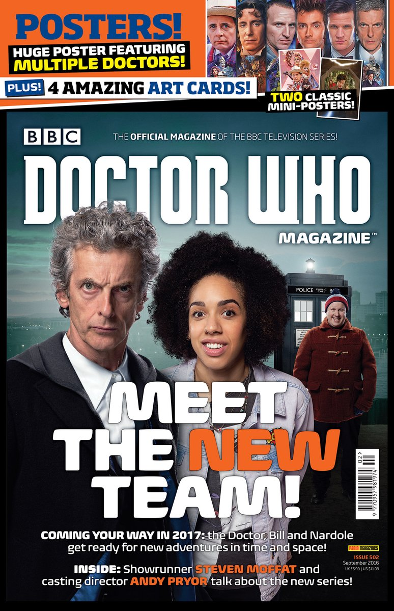 Doctor Who Magazine Issue 502