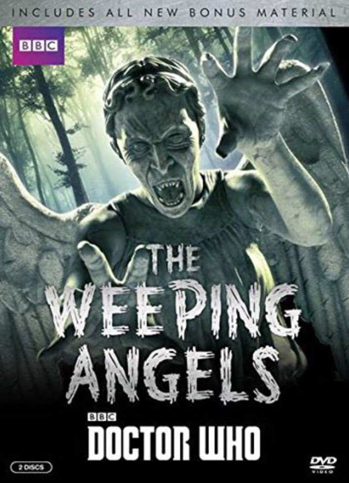 Doctor Who: Weeping Angels US DVD Cover