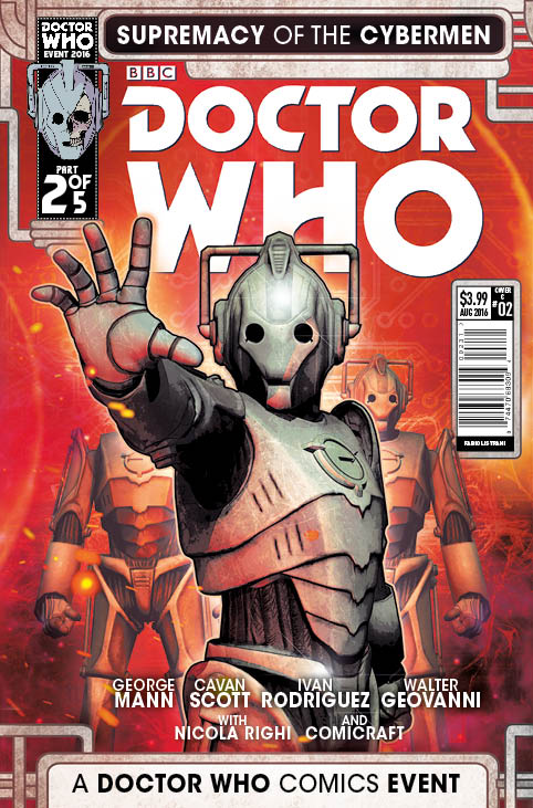 TITAN COMICS - DOCTOR WHO: SUPREMACY OF THE CYBERMEN #2 COVER C Fabio Listrani