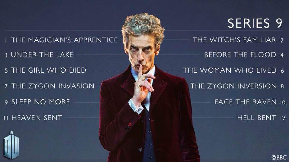 Doctor Who Series Titles (c) BBC