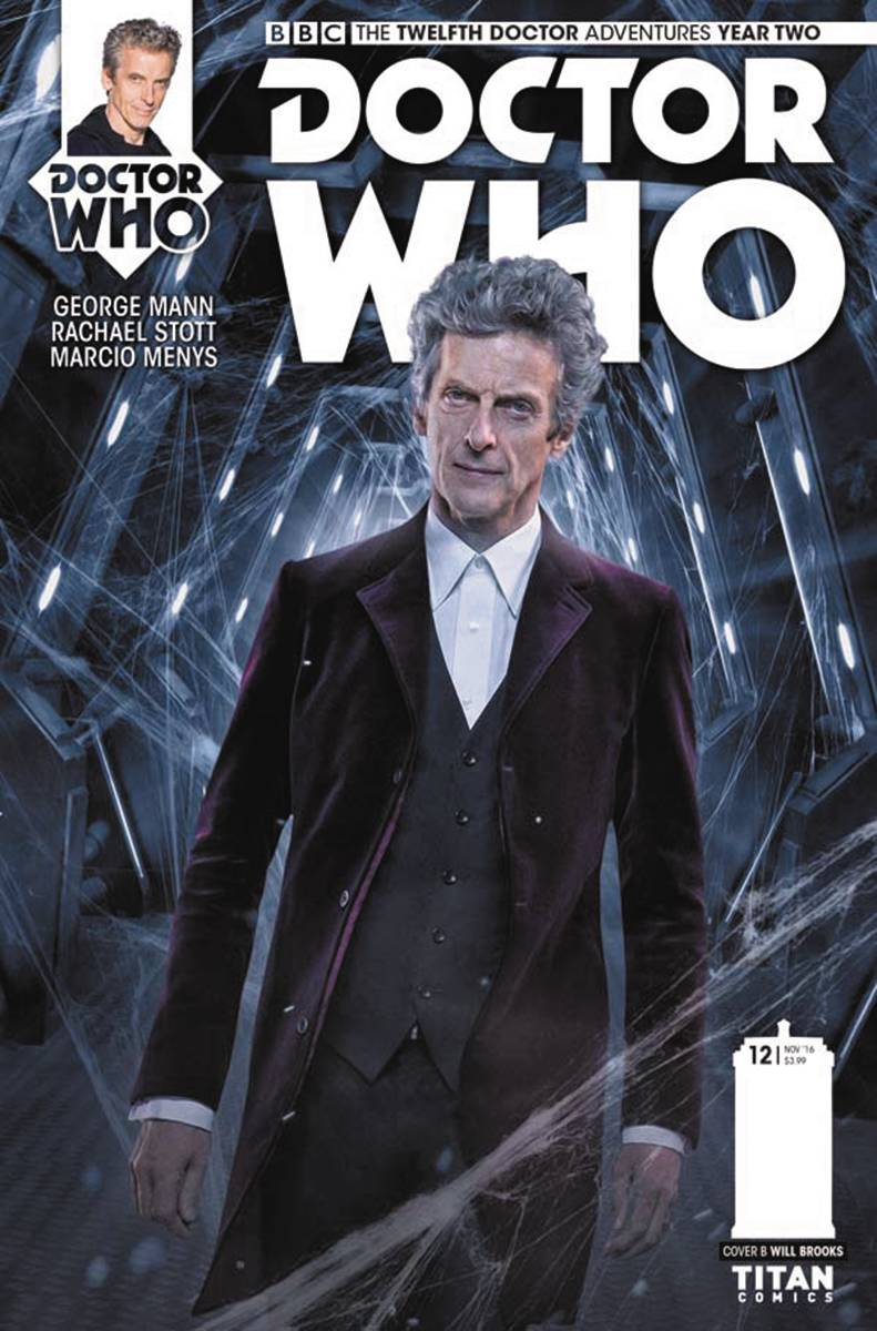 Twelfth Doctor Cover 2.12 (c) Will Brooks and Titan Comics