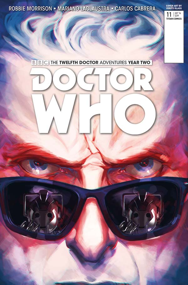 DOCTOR WHO: THE TWELFTH DOCTOR YEAR TWO #11 Cover A Verity Glass