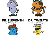 Doctor Who/Mr. Men (c) Puffin Books