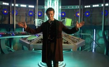 The Doctor (MATT SMITH), Tardis Interior - (C) BBC - Photographer: Adrian Rogers