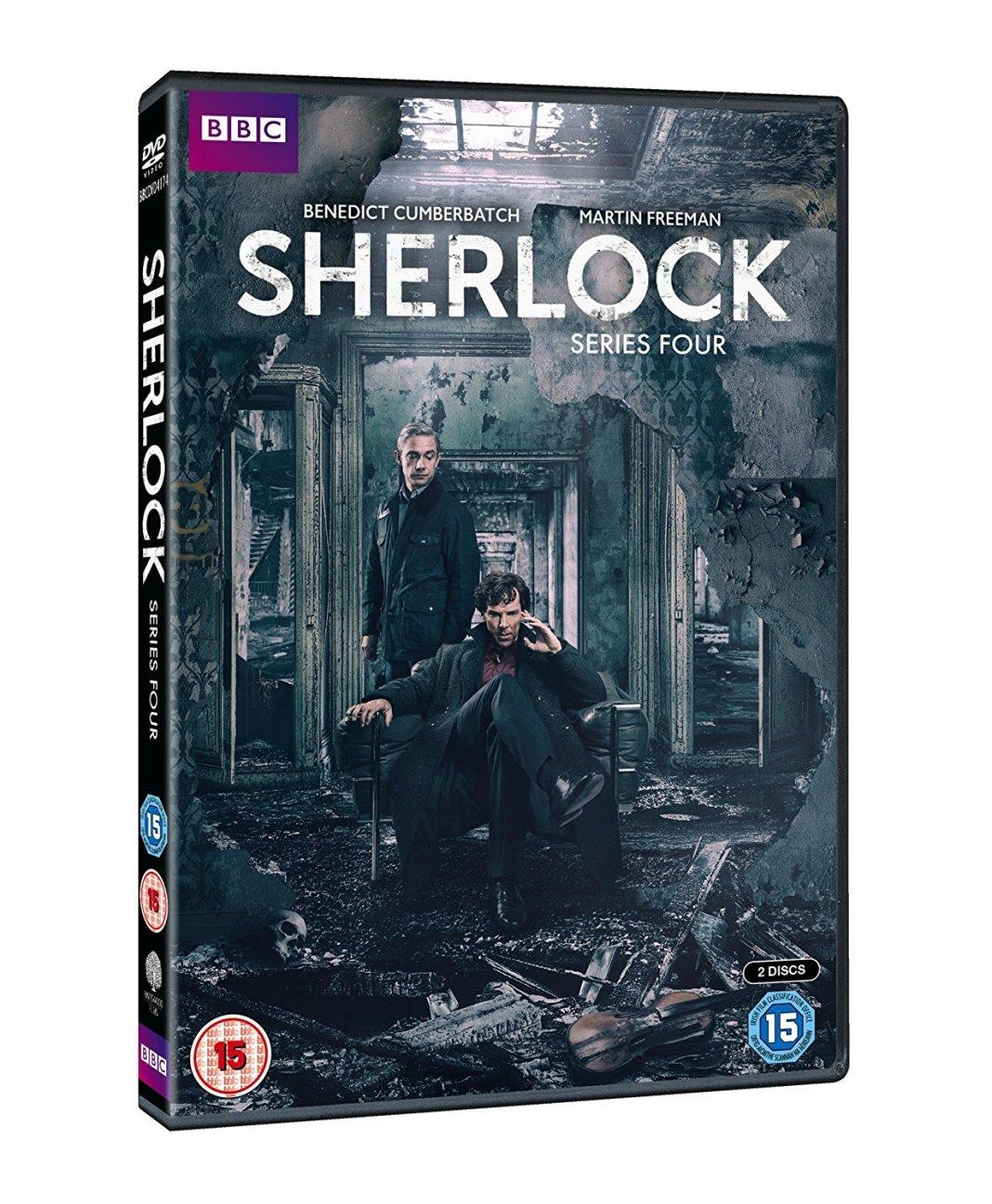 Sherlock Series 4 DVD