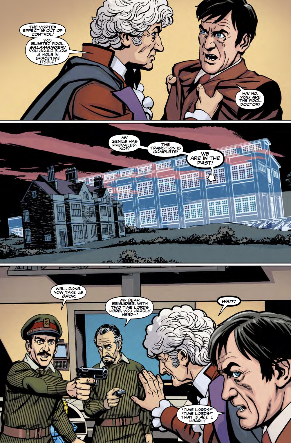 TITAN COMICS - DOCTOR WHO: THIRD DOCTOR #5 - PREVIEW 3