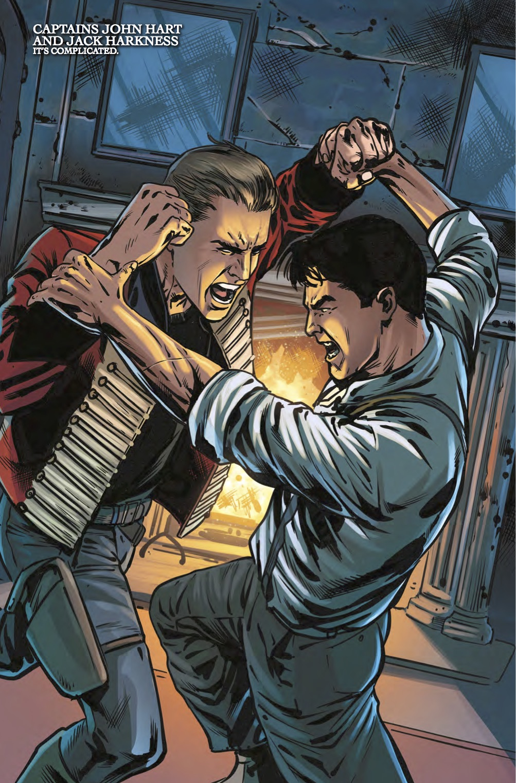 TITAN COMICS - TORCHWOOD #2.1 PREVIEW 1