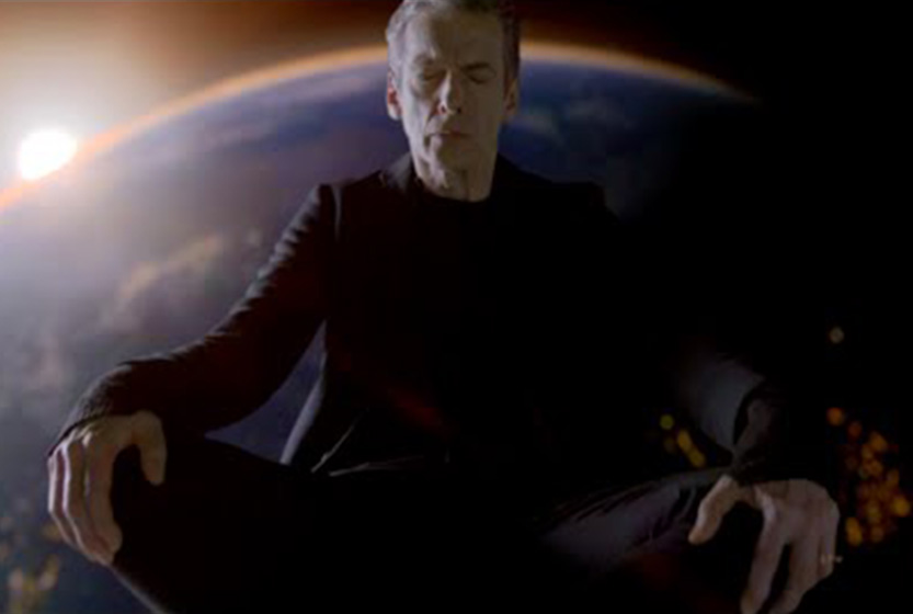 Peter Capaldi as the Twelfth Doctor - Doctor Who - Listen (c) BBC