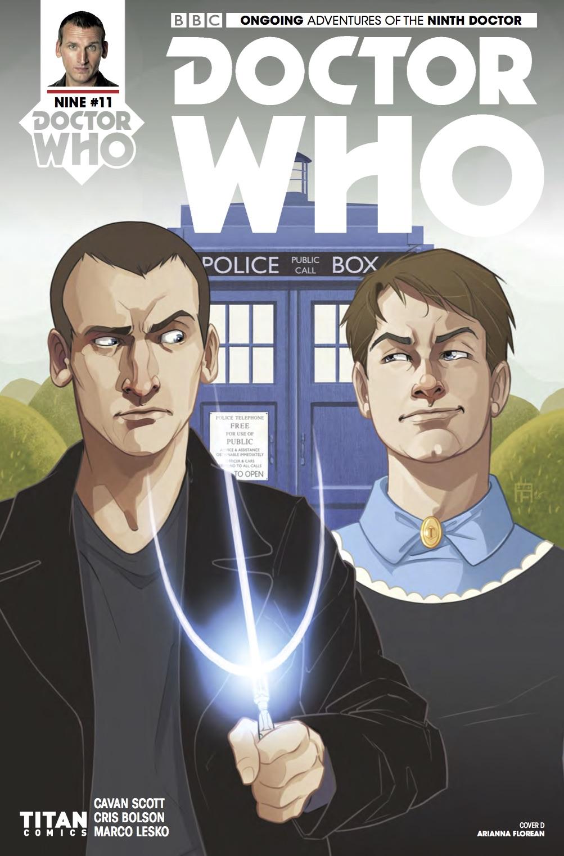 TITAN COMICS - DOCTOR WHO 9TH DOCTOR #11 Cover D: Arianna Florean