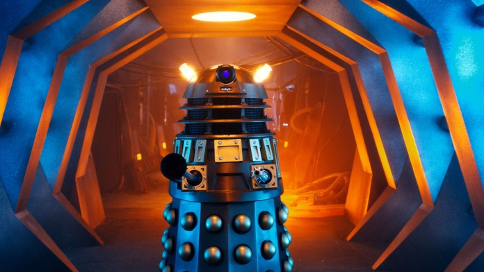 Doctor Who S10 - Picture Shows: Screen grab from episode one Dalek - (C) BBC - Photographer: screen grabs