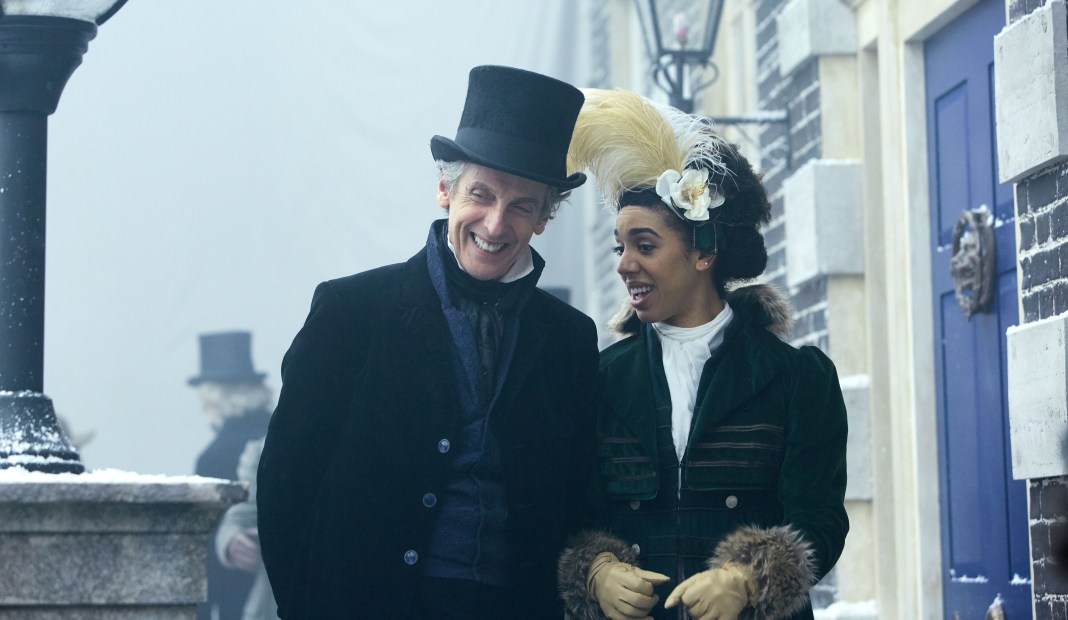 Doctor Who S10 - TX: 29/04/2017 - Episode: Thin Ice (No. 3) - Picture Shows: Doctor Who (PETER CAPALDI), Bill (PEARL MACKIE) - (C) BBC - Photographer: Simon Ridgway