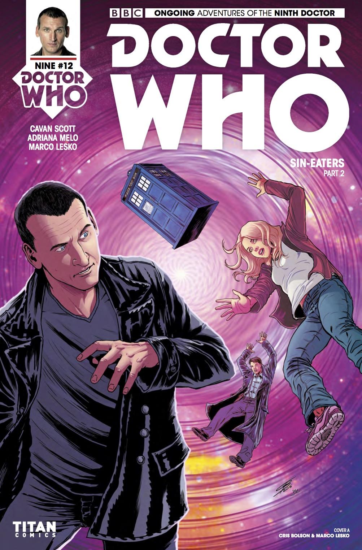 TITAN COMICS - DOCTOR WHO: NINTH DOCTOR #12 COVER A - CRIS BOLSON & MARCO LESKO