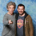 Peter Capaldi and Jason Chisholm - Photo Opportunity © Calgary Expo