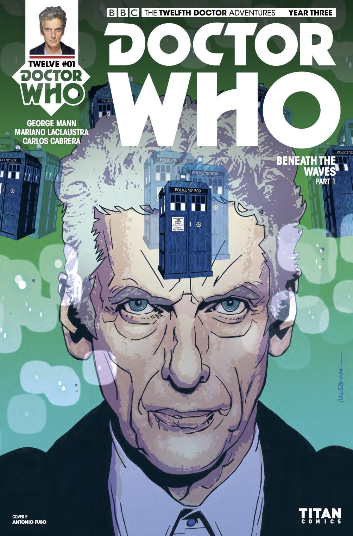 TITAN COMICS - DOCTOR WHO: TWELFTH DOCTOR YEAR THREE #1 - Cover E: Antonio Fuso