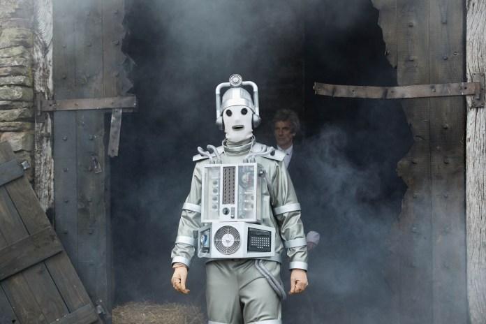 Doctor Who - S10 - The Doctor Falls - Mondasian Cyberman, The Doctor (PETER CAPALDI) - (C) BBC/BBC Worldwide - Photographer: Simon Ridgway