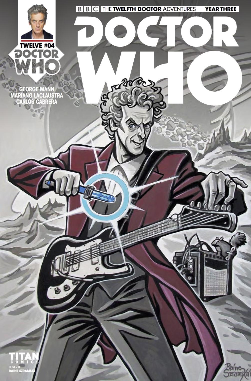 TITAN COMICS - DOCTOR WHO: TWELFTH DOCTOR YEAR 3 #4 - Cover D: Raine Szramski