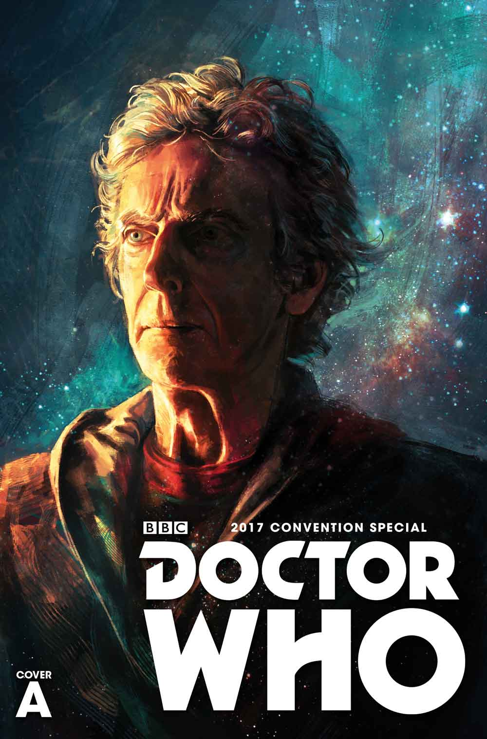 TITAN COMICS DOCTOR WHO SDCC CONVENTION SPECIAL COVER BY Alice X. Zhang