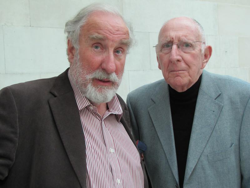 Christopher Benjamin and Trevor Baxter