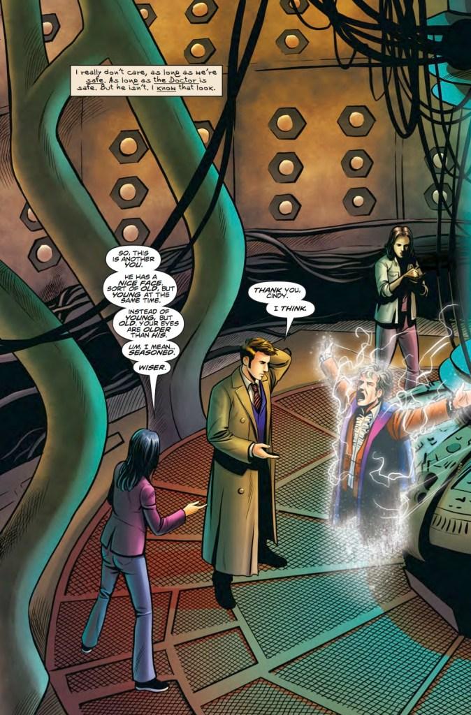 Doctor Who: The Lost Dimension Volume One Pg 62. Art by Giorgia Sposito. (c) BBC
