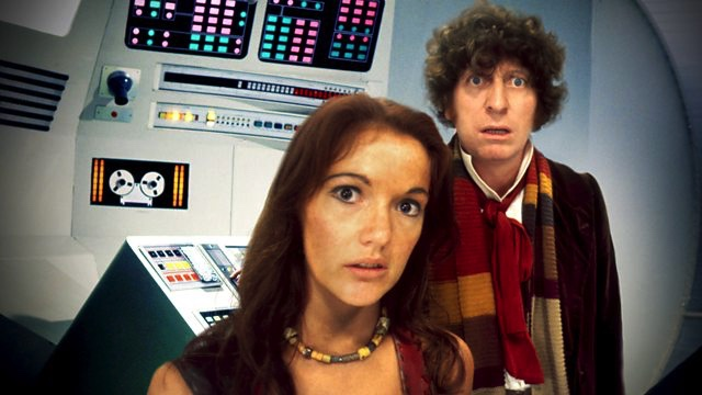 Tom Baker and Louise Jameson in Doctor Who (c) BBC