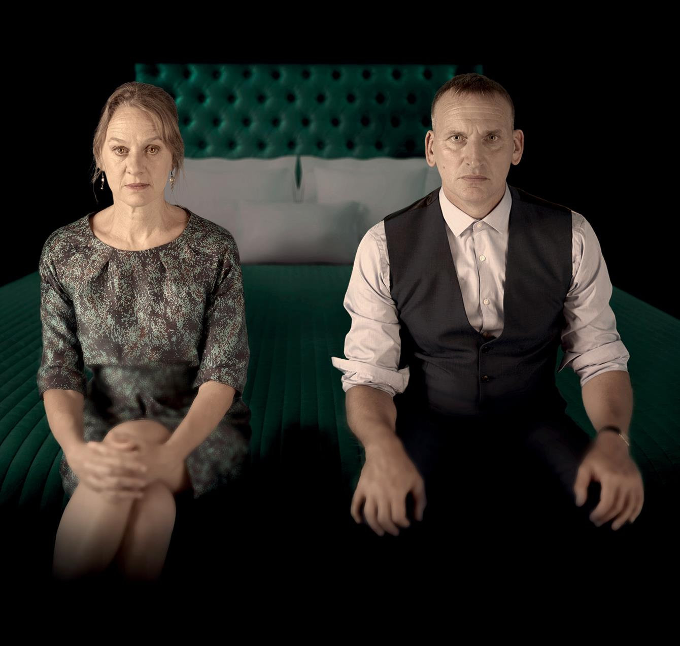 Niamh Cusack & Christopher Eccleston in Macbeth (c) RSC