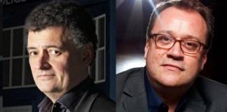 Steven Moffat and Russetl T Davies